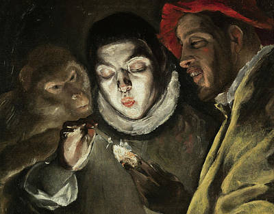 Moral Painting - Fable by El Greco