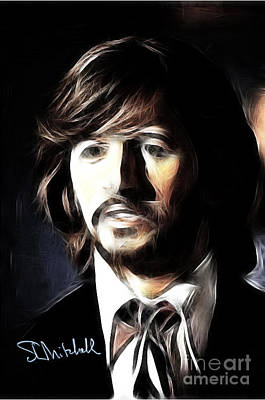 Digital Art - Fabulous Ringo by Stephen Mitchell