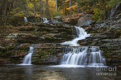 Photograph - Factory Falls by Debra Fedchin