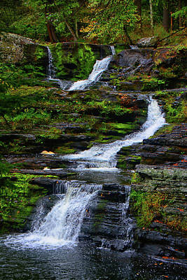 Photograph - Factory Falls by Raymond Salani III