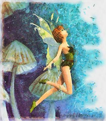 Fantasy Royalty-Free and Rights-Managed Images - Fairy by Sarah Kirk
