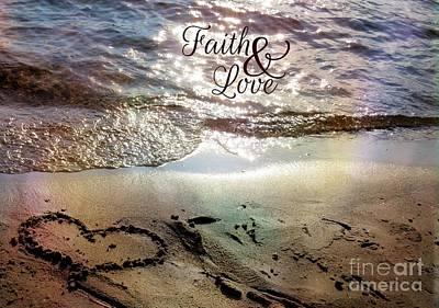 Photograph - Faith And Love by France Laliberte
