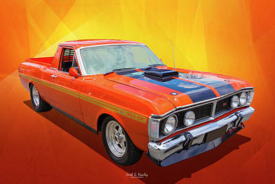 Photograph - Falcon Ute by Keith Hawley