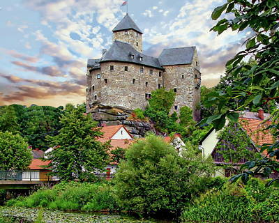 Photograph - Falkenberg Castle by Anthony Dezenzio