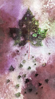 Susann Serfezi Painting - Fall by AugenWerk Susann Serfezi