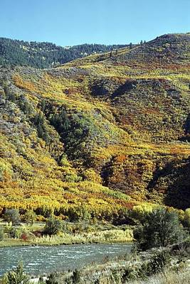 Photograph - Fall Color In Glenwood Canyon by NaturesPix