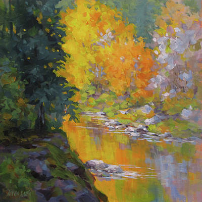 Painting - Fall Color by Karen Ilari