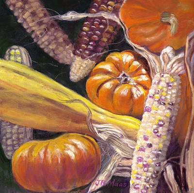 Painting - Fall Harvest by Julie Maas