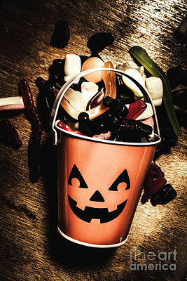 Bucket Photograph - Fall Of Halloween by Jorgo Photography - Wall Art Gallery