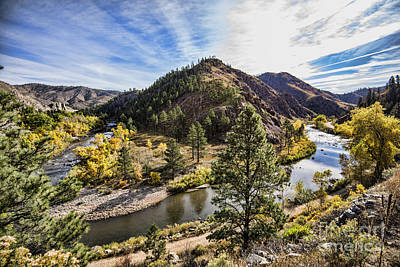 Fall On The Poudre Art Print
