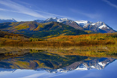 Photograph - Fall Refelctions by Mark Smith