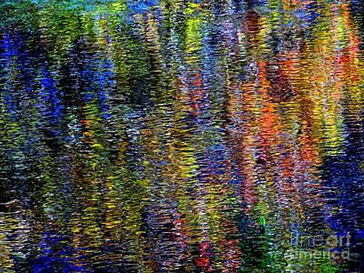 Photograph - Fall Reflections #4 by Ed Weidman