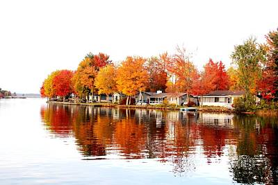 Photograph - Fall Reflections by Charlene Reinauer