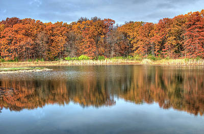 Photograph - Fall Reflections by Steve Stuller
