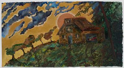 Fall Retreat Art Print by Ione Citrin