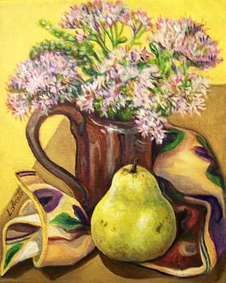 Painting - Fall Still Life by Laura Aceto