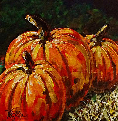 Painting - Fall Whisper by Vickie Warner