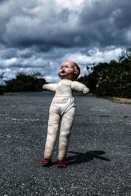 Falling Doll Art Print