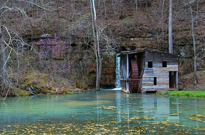 Photograph - Falling Spring Mill by Steve Stuller