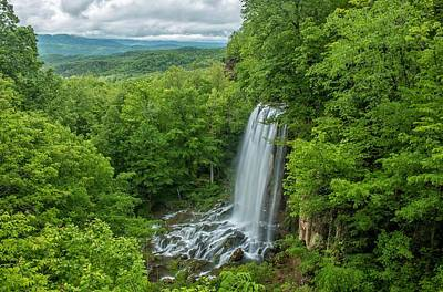 Photograph - Falling Springs Falls - Virginia Waterfall by Chris Berrier