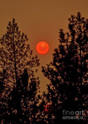 Photograph - Falling Sun by Robert Bales