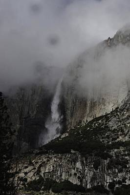Photograph - Falls In Yosemite by Phyllis Spoor