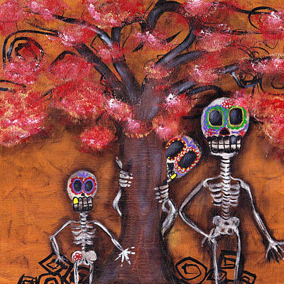 Painting - Family Tree by  Abril Andrade Griffith