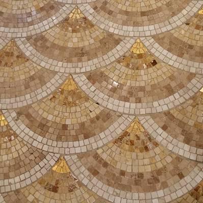 Photograph - Fan Mosaic 1 by Karen J Shine