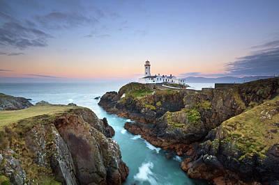Donegal Photograph - Fanad Head Lighthouse by Pawel Klarecki