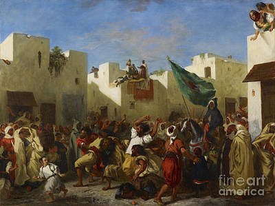 Fanatics Of Tangier Art Print by MotionAge Designs