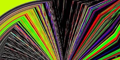 Multihued Digital Art - Fandango by Will Borden