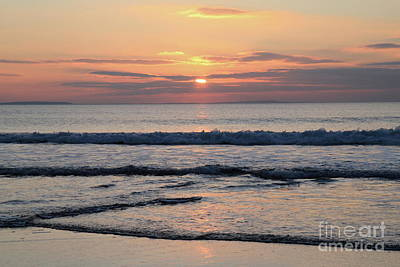 Photograph - Fanore Sunset 2 by Peter Skelton