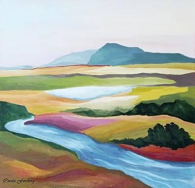 Painting - Fantasy Landscape by Carola Ann-Margret Forsberg