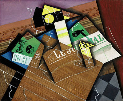 Painting - Fantomas by Juan Gris