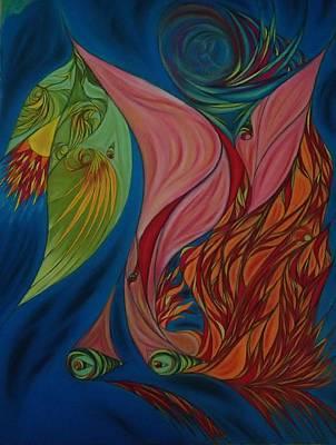Pastel - Far Away Eyes by Robert Nickologianis