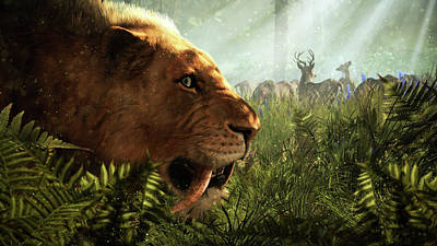 Cats Digital Art - Far Cry Primal by Super Lovely