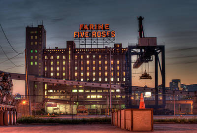 Photograph - Farine Five Roses by Martin New