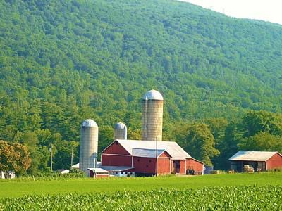 Farm In Belleville Pa Art Print
