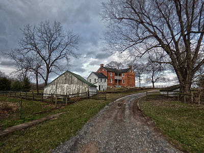 Photograph - Farm Lane by Robert Geary