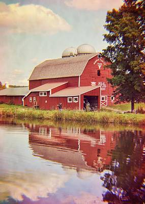 Photograph - Farm Reflection by JAMART Photography
