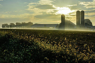 Photograph - Farm Sunrise #1 by Tana Reiff