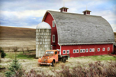 Photograph - Farm Truck by Steve McKinzie