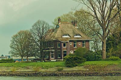 Photograph - Farmhouse On The Rhine by Jill Smith
