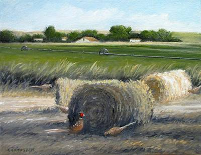 Painting - Farmland by Boris Garibyan