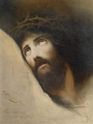 Painting - Father, Forgive Them, For They Know Not What They Do by Karl Wilhelm Diefenbach