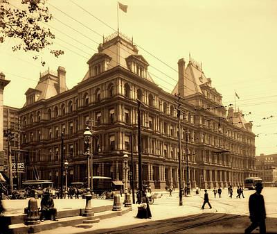 Photograph - Federal Building - Cincinnati 1901 by L O C