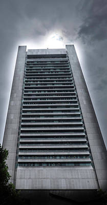Photograph - Federal Reserve Boston by Steven Shapse