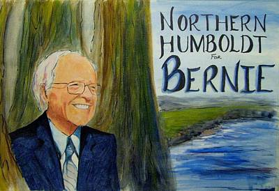 Painting - Feel The Bern by Patricia Kanzler