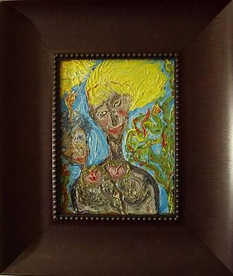 Painting - Feelings by Bennu