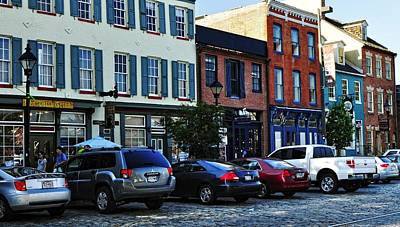Fells Point Photograph - Fells Point by Jim Archer